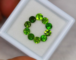 1.97Ct Chrome Diopside Round Cut Lot LZ1878