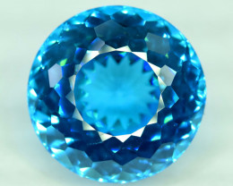 S#31-22 , 29.85 cts Electric Blue Topaz