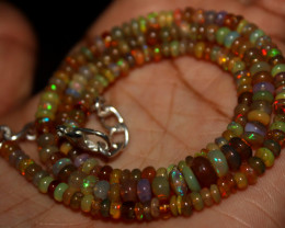 42 Crt Natural Ethiopian Welo Fire Opal Beads 137