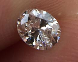 Stunning IGL Certified $500 Natural 0.35ct. Oval White Diamond