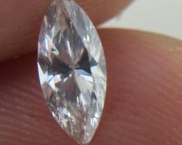 Superb IGL Cert $898 Natural 0.47ct. Marquise White Diamond
