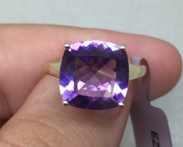 (B3) Incredible $1700 Nat 4.85ct. Limited Edition Moroccan Amethyst  Ring 1