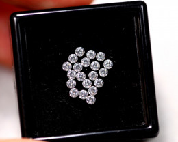 1.40mm Natural D-F Colour VS Loose Diamond 20pcs Lot