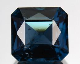 ~EMERALD CUT~ 1.21 Cts Natural Deep Blue Spinel Octagon Sri Lanka
