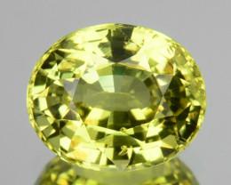 Natural Lime Green Chrysoberyl Round Cut 0.98 Cts Sri Lanka