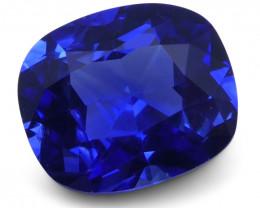 1.05 ct Cushion Blue Sapphire IGI Certified