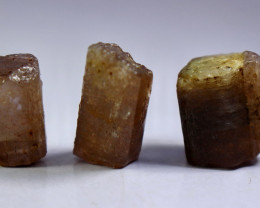 76.90 CT Natural - Unheated Purple Brown Scapolite Crystal Lot