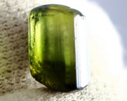 11.05 CT Natural - Unheated  Green Tourmaline Rough