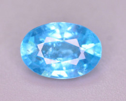 AAA Quality 1.10 Ct Neon Blue Color Natural Apatite