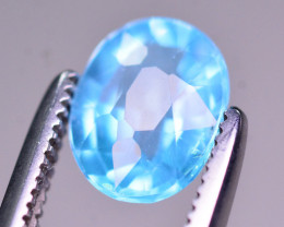 AAA Quality 1.05 Ct Neon Blue Color Natural Apatite
