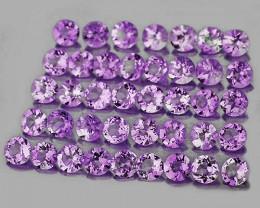 1.00 mm Round 100 pcs Pinkish Purple Amethyst [VVS]