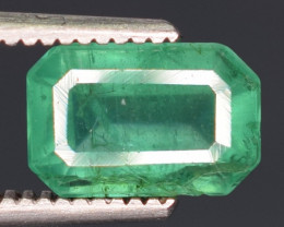 1.30 carats Natural green  color Emerald gemstone