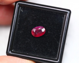 UNHEATED 1.15Ct Mozambique Pigeon Blood Red Ruby  E2101