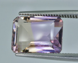 6.41 Crt Ametrine Faceted Gemstone (R22)