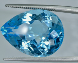 21.95 Crt Topaz Faceted Gemstone (R22)