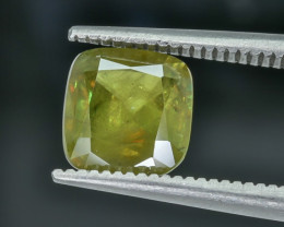 1.85 Crt Sphene Faceted Gemstone (R22)