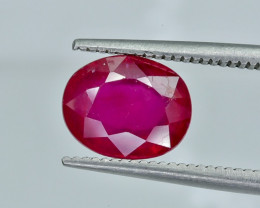 2.70 Crt Composite Ruby Faceted Gemstone (R22)