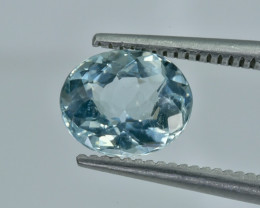 1.25 Crt Aquamarine Faceted Gemstone (R22)