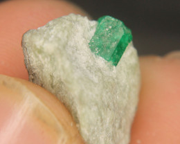 Natural Swat Emerald Specimen From Pakistan
