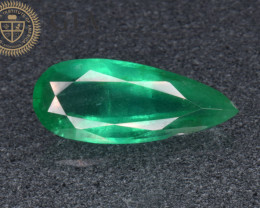 GIA Certified Natural Rare Emerald 2.35 Cts  from Sandawana Mine, Zimbabwe