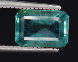 1.60 carats Natural color Emerald gemstone