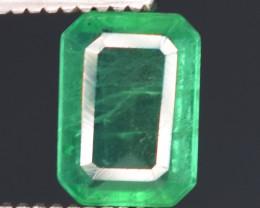 0.60 carats Natural green color Emerald gemstone
