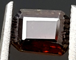 0.75CT WORLD RAREST RED FACETED RUTILE  BEST QUALITY GEMSTONE IGC61