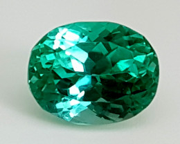 3.80Crt Green Spodumene  Best Grade Gemstones JI08