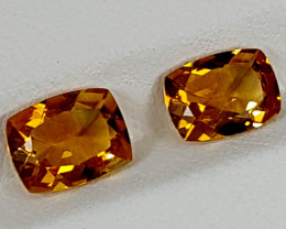 2.15Crt Madeira Citrine  Best Grade Gemstones JI08