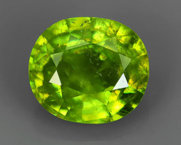 FINIST EVER 1.70 CTS MAGNIFICENT NATURAL RARE QUALITY FANCY SPHENE!!