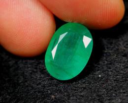 3.96cts Natural Zambian Green BIG SIZE Emerald / 14