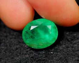 4.53cts Natural Zambian Green BIG SIZE Emerald / 17