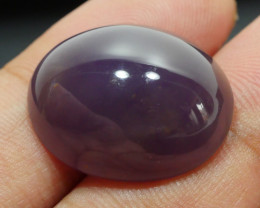 21.50 CRT NATURAL INDONEISAN PURPLE CHALCEDONY AA GRADE-H11-