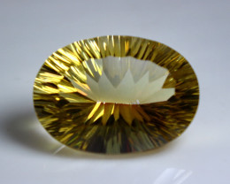 31.55 CT Natural - Coated Mystic Quartz Faceted Gemstone