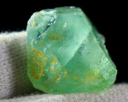 117.50  CT Natural - Unheated  Green Fluorite Rough