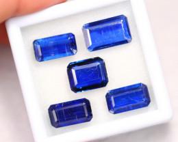 25.66Ct Natural Royal Blue Color Kyanite Lot B2208