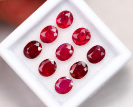 6.00Ct Natural Heated Only Mozambique Red Ruby B2213