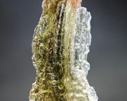 Moldavite (Moldavit, Moldovite) - Uncommon shape