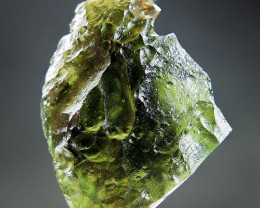 Shiny Natural Raw Moldavite