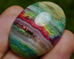 49.00 CT Beautiful Abstract Picture Jasper Indonesian Gemstone