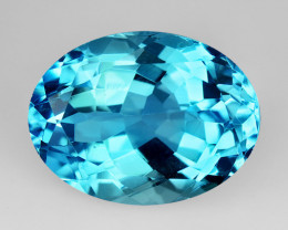 11.55 Ct Natural Topaz Top Cutting Top Luster Faceted Gemstone.TP 09