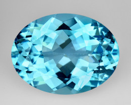 11.49 Ct Natural Topaz Top Cutting Top Luster Faceted Gemstone.TP 15