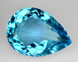 15.29 Ct Natural Topaz Top Cutting Top Luster Faceted Gemstone.TP 17