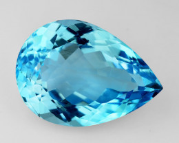 11.71 Ct Natural Topaz Top Cutting Top Luster Faceted Gemstone.TP 19