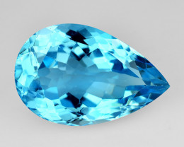 11.78 Ct Natural Topaz Top Cutting Top Luster Faceted Gemstone.TP 20