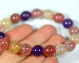 138.0Ct Natural Mix Colour Crystal Bracelet