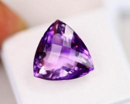 13.25ct Purple Amethyst Chessker Board Cut Lot GW8352