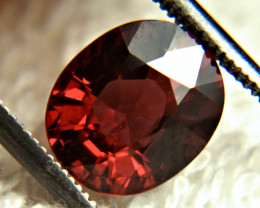 2.88 Ct. African Fiery Red VS Rhodolite Garnet - Gorgeous