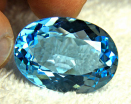 53.42 Ct. Blue Brazil VVS Topaz - Gorgeous