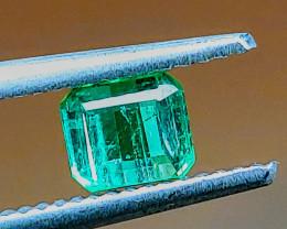 Unheated 0.84 CT Green-Blue Tourmaline  (Paprok Mine, Afghanistan)
